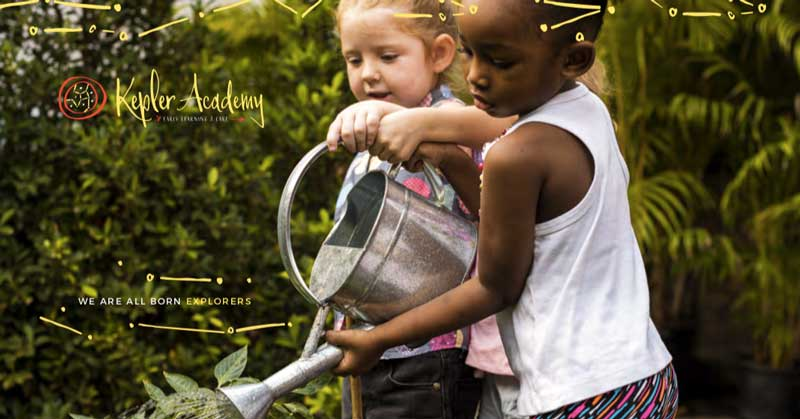 Little Children Gardening